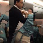 大韓航空機内でまた事件 機内で大暴れ、唾を吐くなどの暴言男に非難殺到
