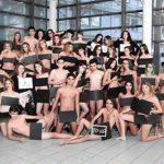 フランス・アヴィニョンのフェデリック・ミストラル高校 裸のクラス集合写真!?